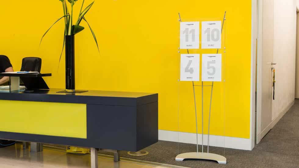 Floor Standing leaflet display stands, literature displays, brochure displays
