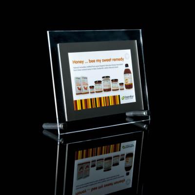 A5 table top light box display unit