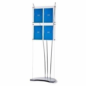 Floor standing A4 brochure stand
