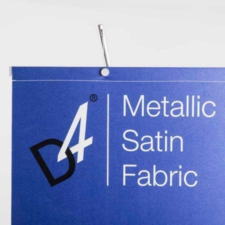 Detail image of fabric banner stand material  - metallic light block fabric