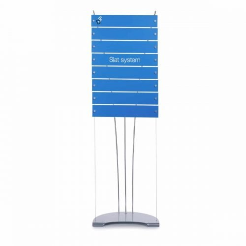 Floor standing directory sign display system