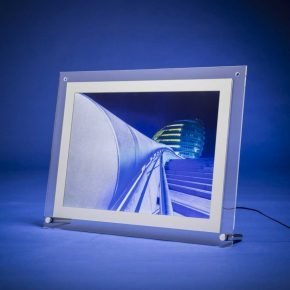 A3 tabletop lightbox a3 counter top displays