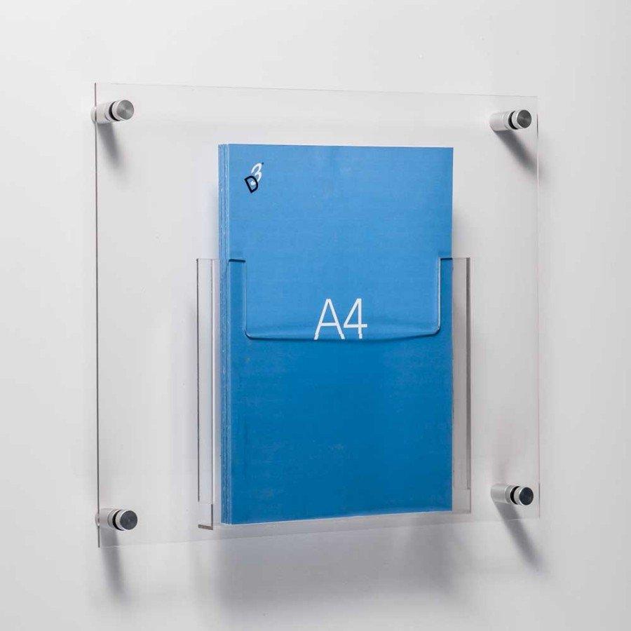 A4 Leaflet Holders Single Or Double Acrylic A4 Pocket