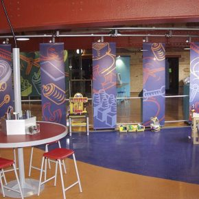 Exhibition banner graphics