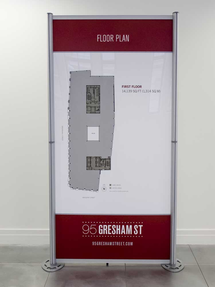 Modular Exhibition Displays for Gresham Street 2013-3