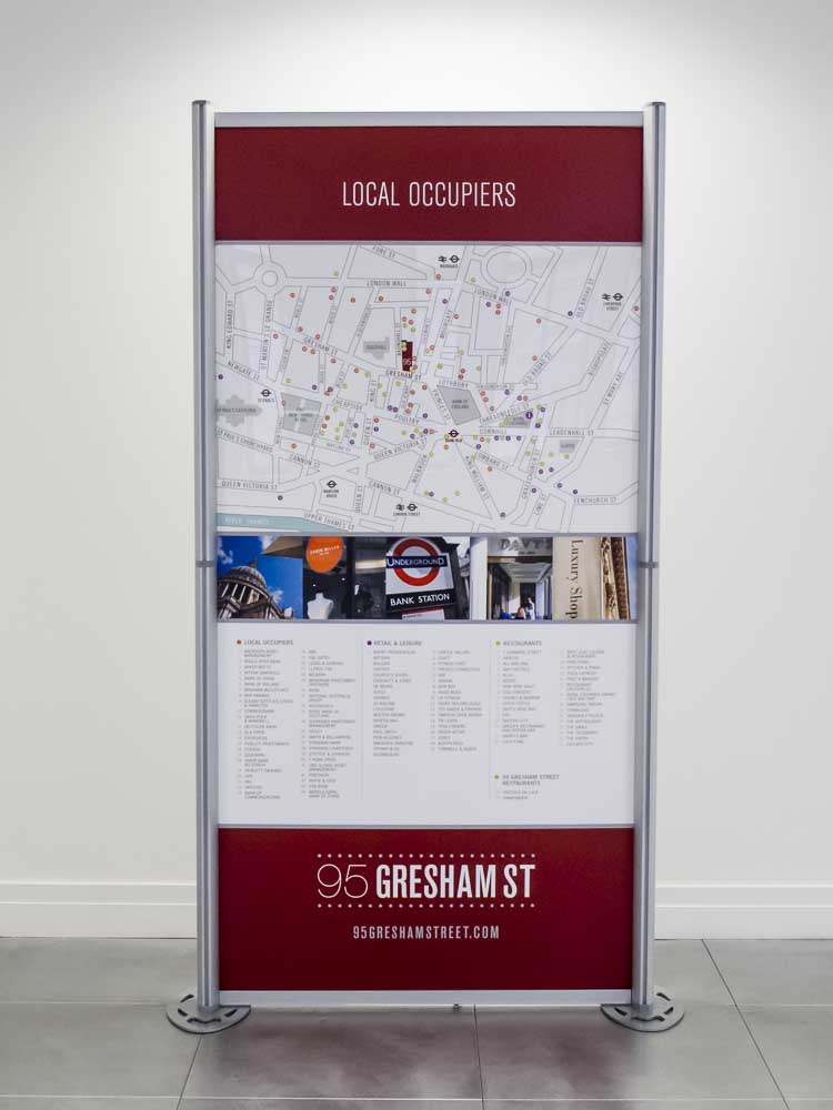 Modular Exhibition Graphics for Gresham Street 2013-4
