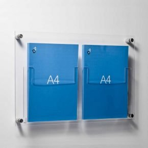 Leaflet Holders - Wall Fixed / Table