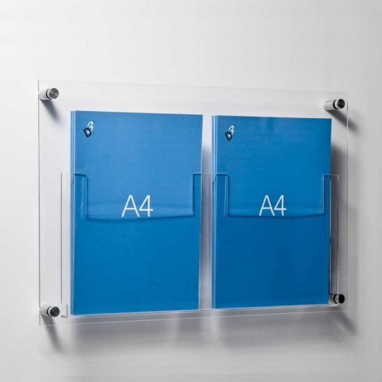 A4 Leaflet Holders Single Or Double Acrylic A4 Pocket