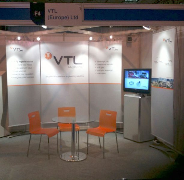 D4.8 Classic Linked Exhibition Stand