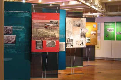 tension banner exhibition displays