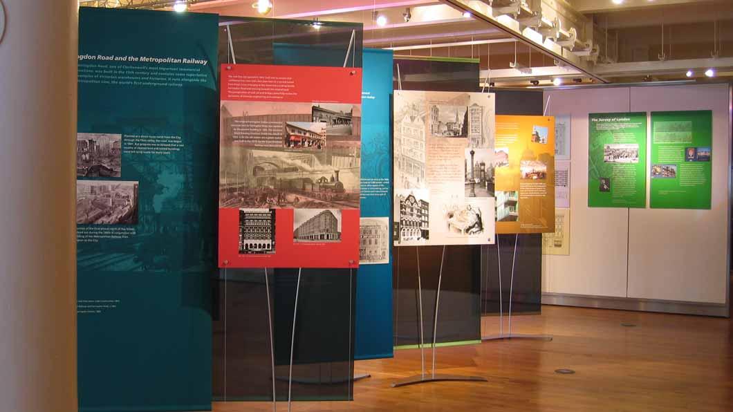 tension banner exhibition displays