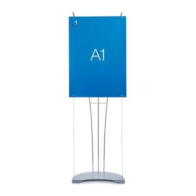 Floor standing A1 small banner stand