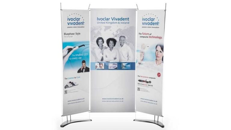 Small Fabric Banner Exhibition System