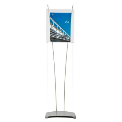 A3 acrylic poster stand