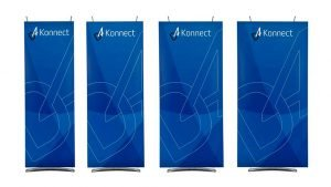 D4 Konnect Banner Stand Launch