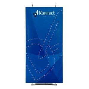 100cm banner trade show pop up banners
