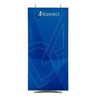Single 100cm wide D4 banner display