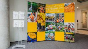 Reception Exhibition Display