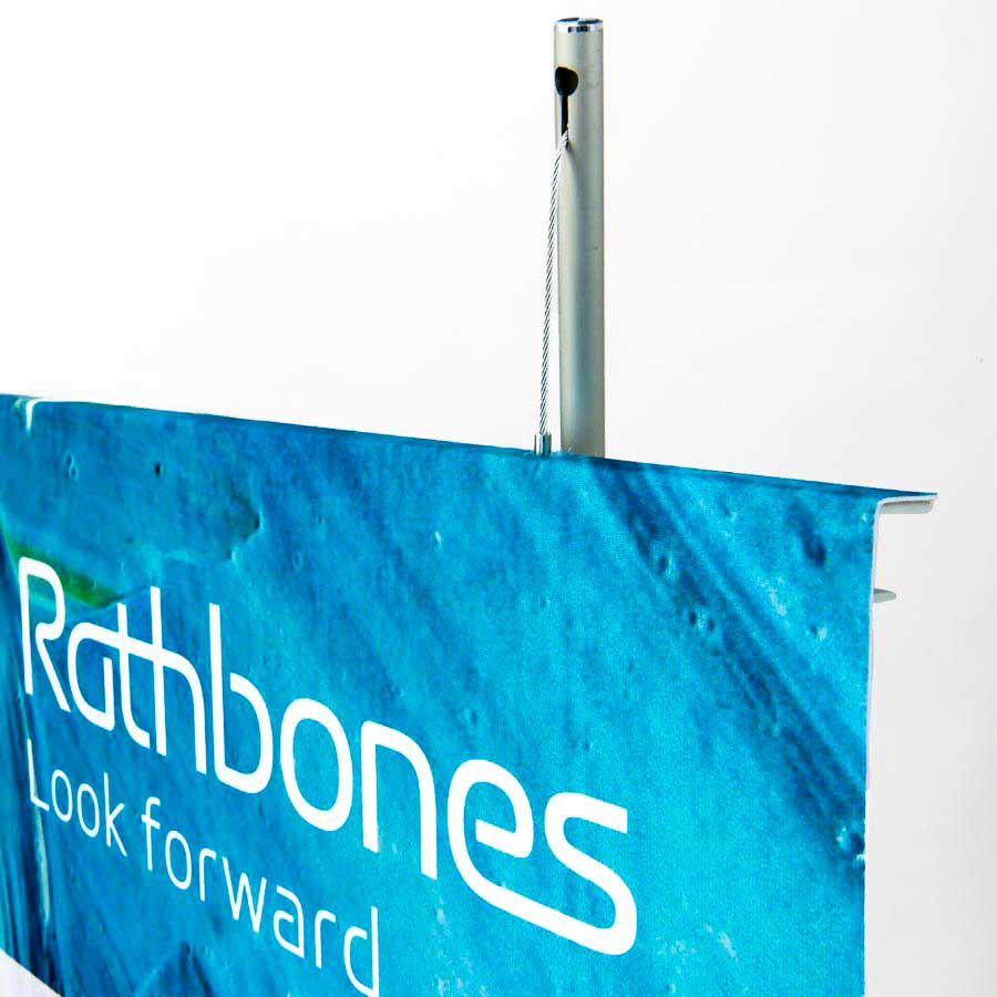 Stylish Fabric Banner Stands