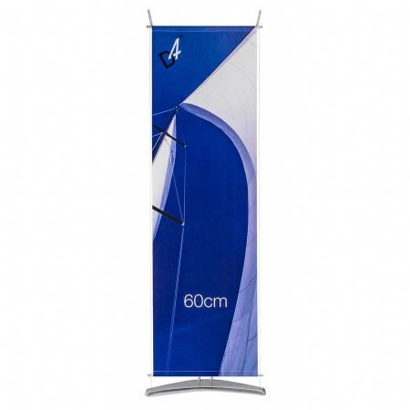 D4 tension fabric banner stand