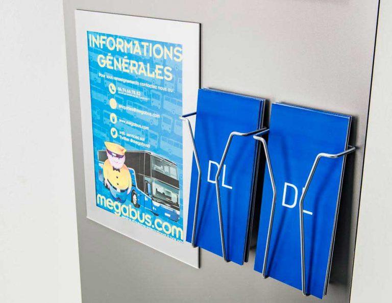 Metal DL leaflet holders