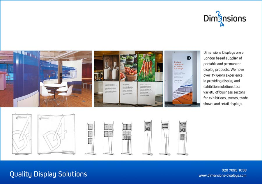 quality exhibition stands brochure pricelist