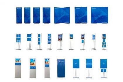 portable display stand products