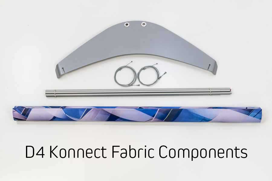 Components for Fabric banner display system
