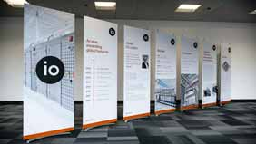 stylish pop up banner stands