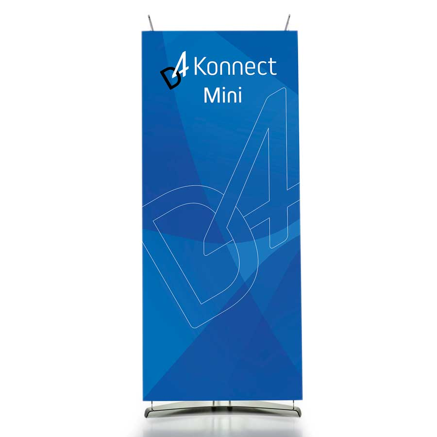 70cm Mini Banner Displays