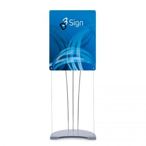 Floor Standing Small Signage Stands