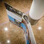curved banner display system