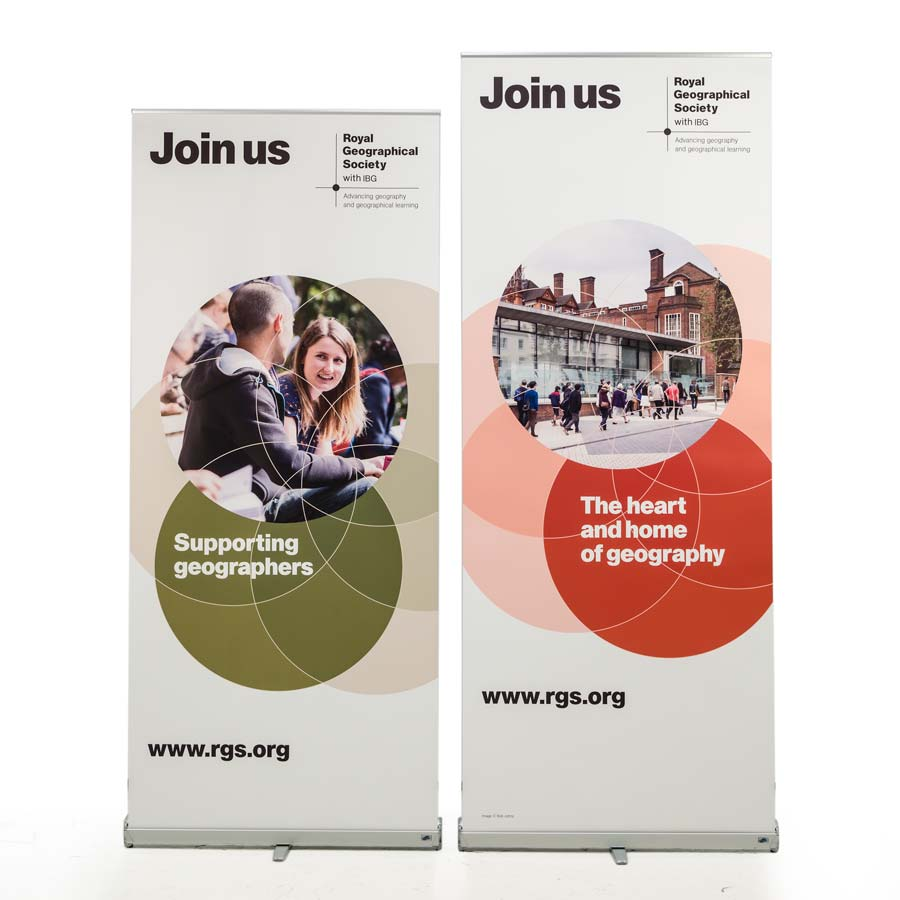 quality roller banner for events