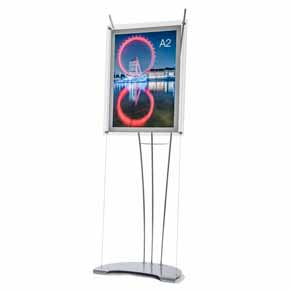 free standing sign poster stand A2