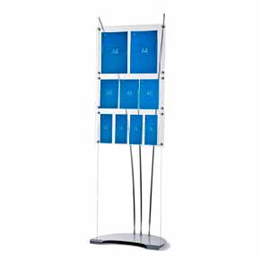 floor standing leaflet display stand