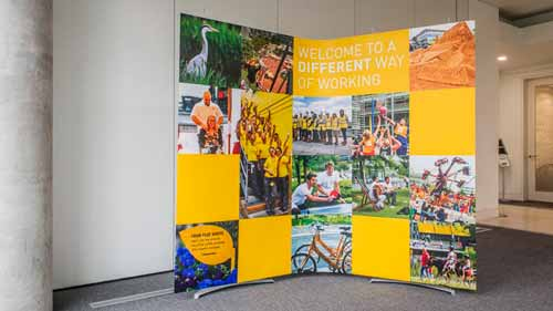 pop up exhibition banner system