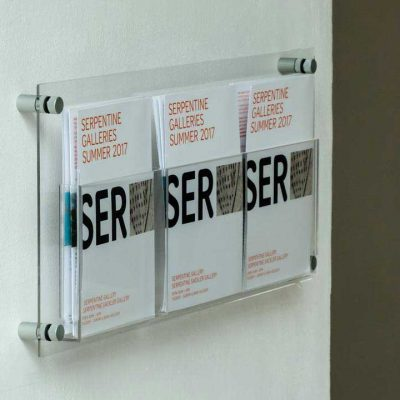 clear acrylic a5 leaflet display