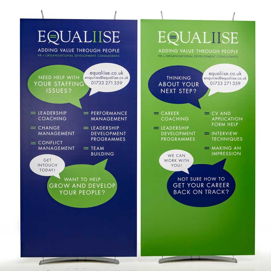 1m modular banner displays