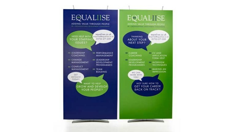 stylish banner stands
