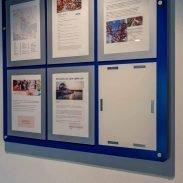 Custom poster holder display