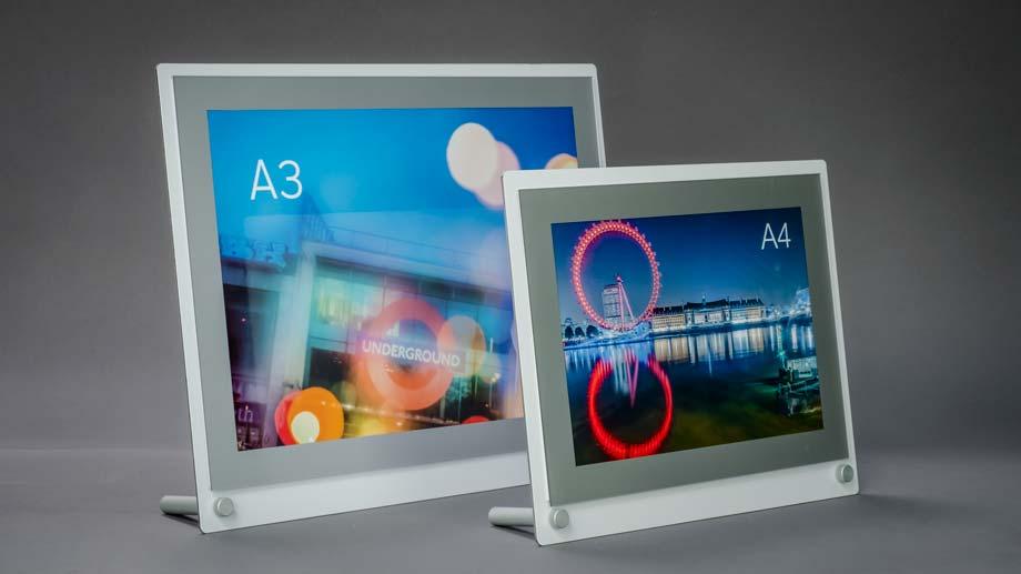 desktop poster frame a4 & a3 poster display