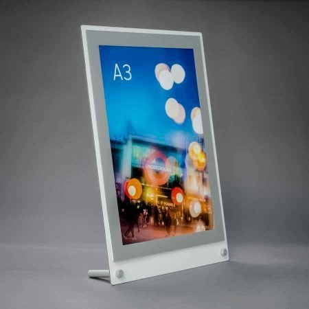 desktop a3 poster display