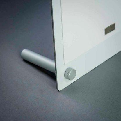 aluminium desktop foot support