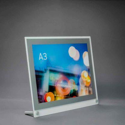 desktop a3 poster display
