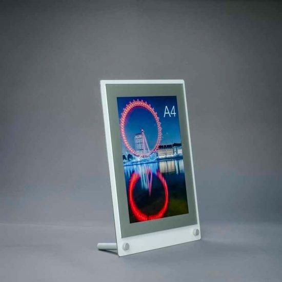 desktop a4 poster display