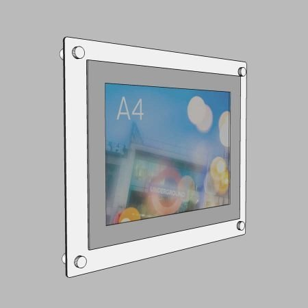 aluminium poster holder