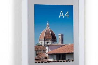 economy acrylic aluminium poster frame