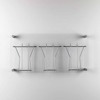 Large A5 Clear Acrylic Wire Leaflet Holder