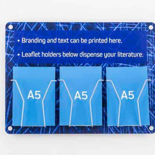 Branded A5 Leaflet Display