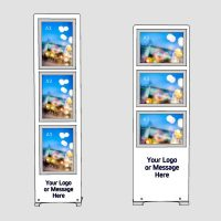 multiple A3 poster displays